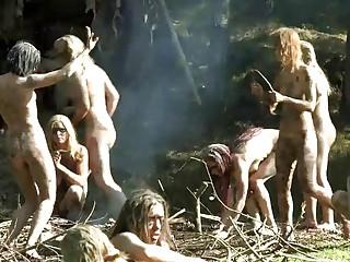 Amazonas salvajes y desnudas comiendo polla y chocho