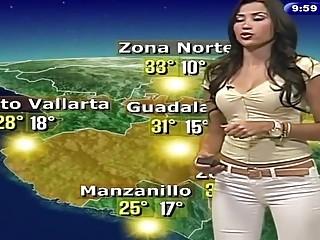 Compilado de meteorologa mexicana super sexy